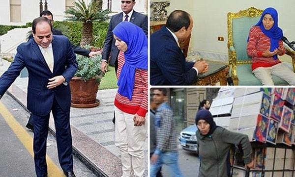 عندما يكون رئيس الجمهورية عبد الفتاح السيسى تكون هذه اخلاقه