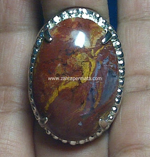 Cincin Batu Permata Panca Warna Garut - ZP 486
