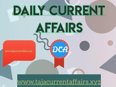 Current Affairs Quiz l 7 March Important  Current Affairs - tajacurrentaffairs
