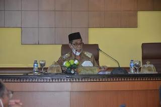 Wakil Bupati Batanghari H. Bakhtiar Gelar Rapat Pelayanan Publik Bersama Para OPD Batanghari