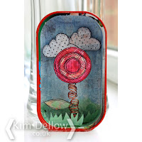 Flower in a tin by Kim Dellow