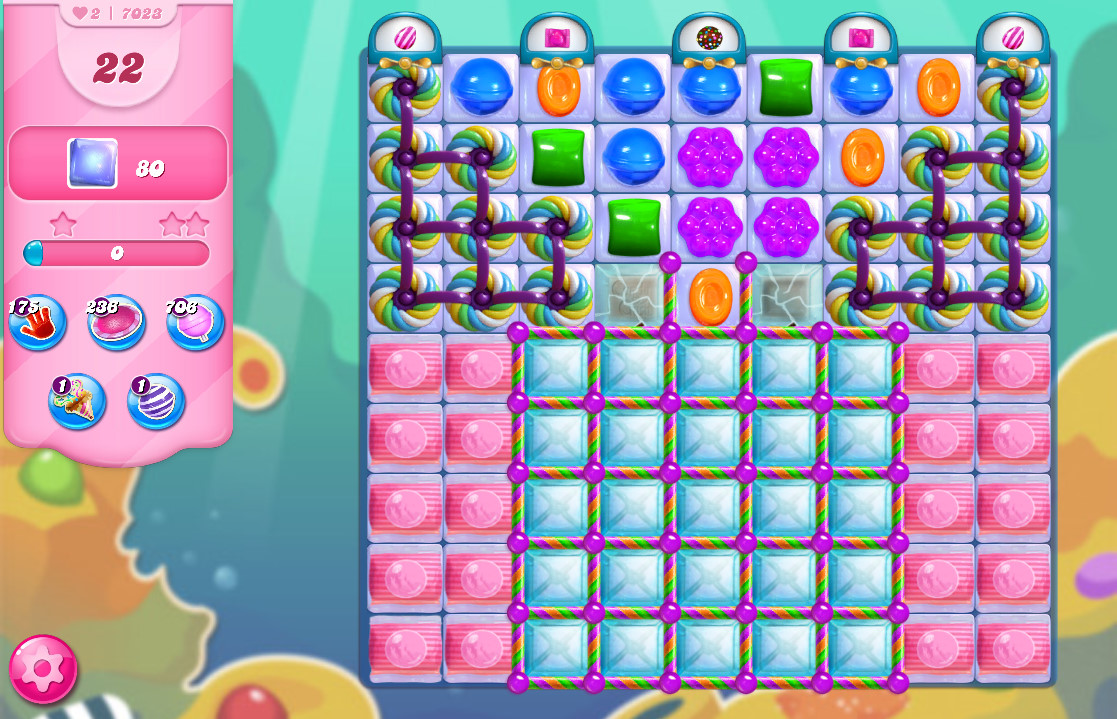 Candy Crush Saga level 7023