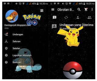 BBM MOD Apk Theme Pokemon Go v3.0.0.18 Terbaru