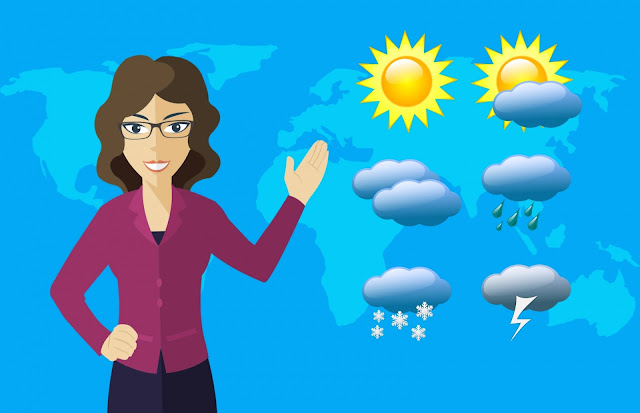 मौसम कि जानकारी कैसे बनती है?