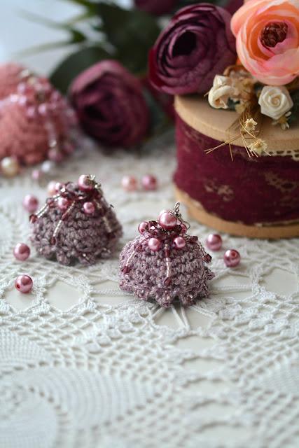 Crochet Jhumka Earrings – free pattern