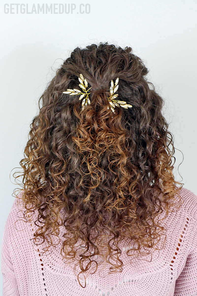 Video Easy Wedding Hairstyle For Naturally Curly Hair