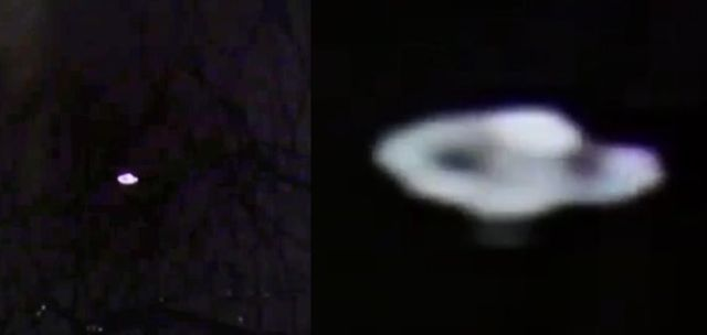 Flying Saucer caught with 8mm camera hovering over Oslo, Norway  Flying-saucer-ufo-disc-norway