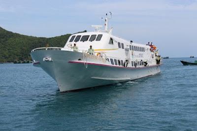 Từ Sóc Trăng đi tàu cao tốc ra Côn Đảo chỉ hơn 2 giờ đồng hồ.