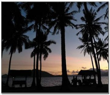 Pantai Ketapang di Lampung
