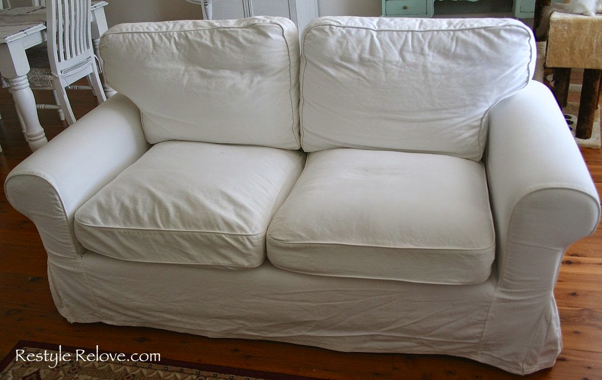 How To Restuff Ikea Ektorp Sofa Cushions Cheap, Easy and Quick