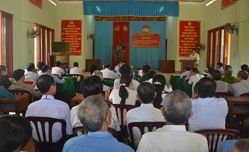 Lý Sơn : Tập trung chuẩn bị cho cuộc bầu cử đại biểu Quốc hội khóa XIV và HĐND các cấp nhiệm kỳ 2016-2021