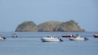 Boats in Liberia Harbor