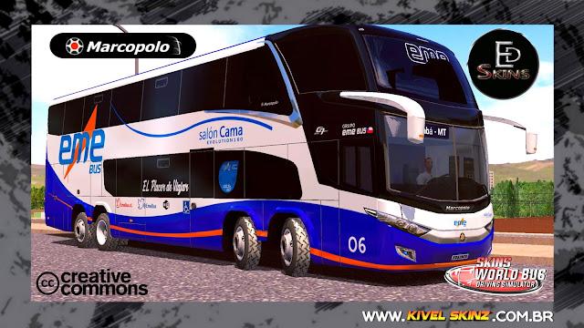 PARADISO G7 1800 DD 8X2 - VIAÇÃO EME BUS (CHILE)