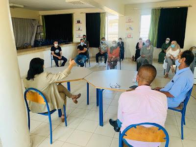 المديرة الإقليمية للوزارة بعين الشق في زيارة ميدانية لتفقد جاهزية المؤسسات التعليمية في ظل كوفيد -19