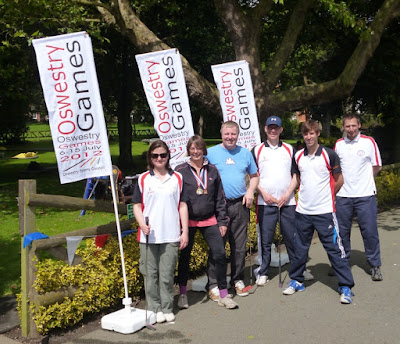 The Oswestry Games minigolf team