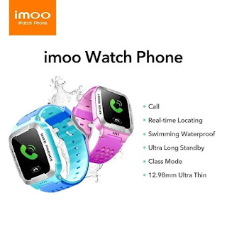 Imoo Watch Y1 Garansi Resmi Waterproof GPS Tracking