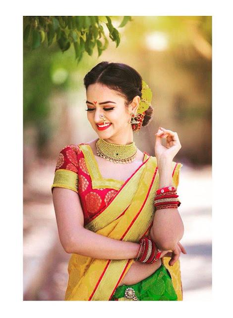Shanvi Srivastava Latest Stunning Photoshoot Pics In Saree Navel Queens