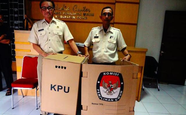 Kotak Suara Pemilu 2019 Pakai Kardus, Ini Foto dan Video Kocak Ungkapan Kekesalan Netizen