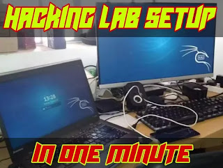Easy Penetration Testing Lab Setup on Our Kali Linux