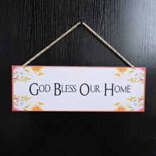 Family-God-Bless-Home-Sign-Wood-Decor-Port Harcourt-Nigeria