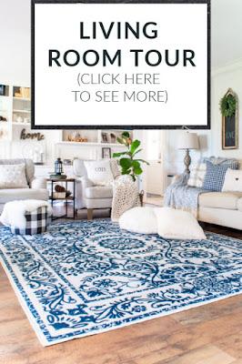 DIY Beautify living room tour