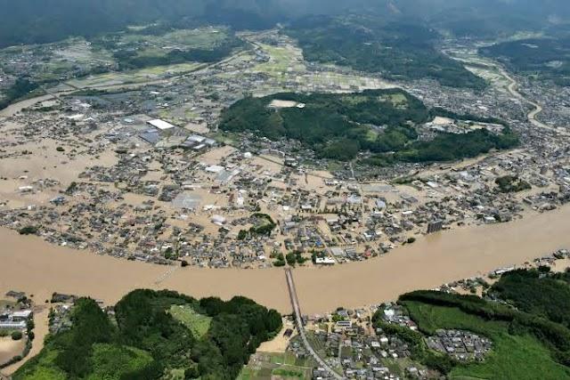 Two killed, 13 missing in Japan's heavy rain