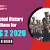 Expected History Questions for CDS 2 2020: Check Here