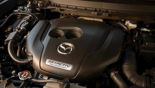 2020 Mazda RX-7 engine