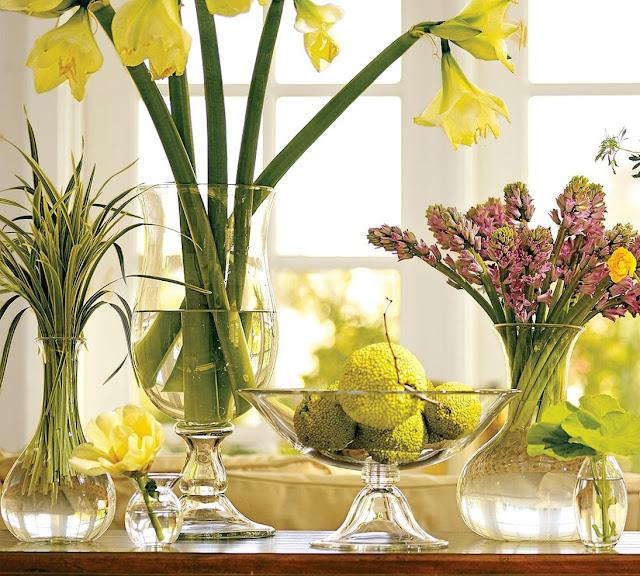 Весеннее настроение - идеи простого и красивого домашнего декора http://prazdnichnymir.ru/