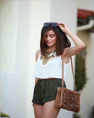 outfit de dos piezas de verano