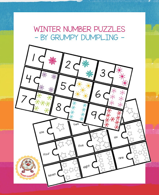 https://www.teacherspayteachers.com/Product/Winter-Number-Puzzles-1-9-2267018
