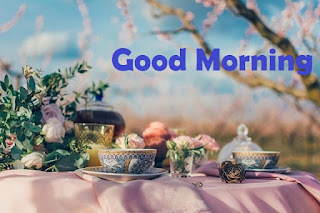 good morning tea image with quotes