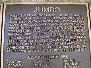 Jumbo Plaque.