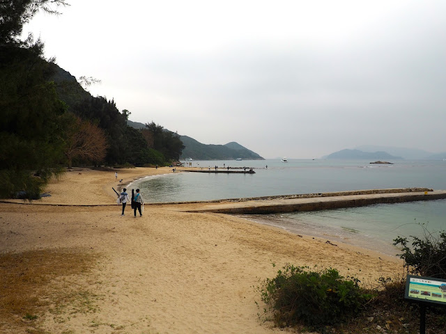 Kiu Tsui beach, Sharp Island, Hong Kong