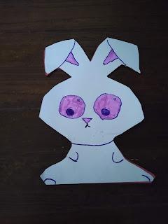 Easy DIY Easter Bunny Card