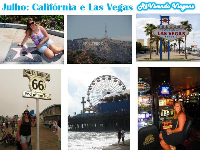 Calif'ornia Las Vegas julho