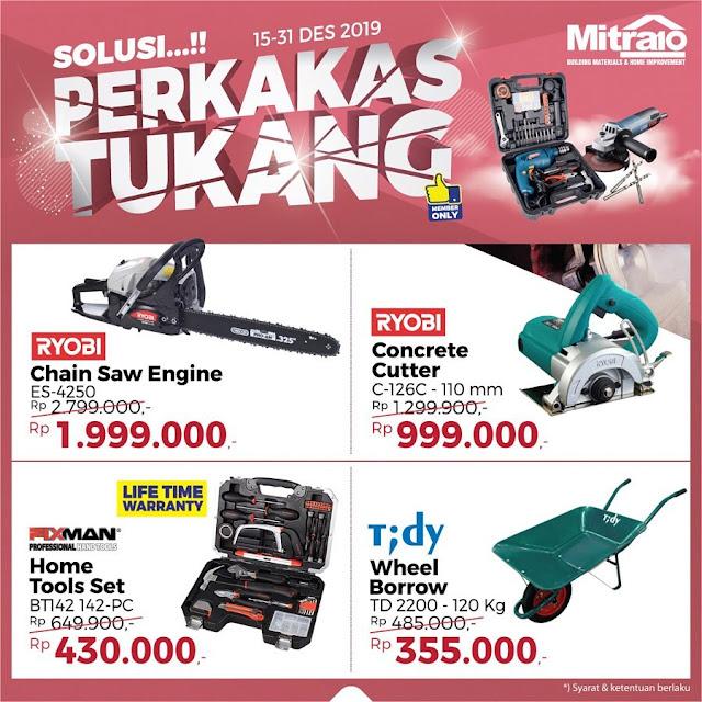 #Mitra10 - #Promo Solusi Perkakas Tukang (s.d 31 Des 2019)