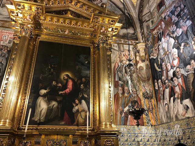 El Patriarca Valencia frescos con procesión