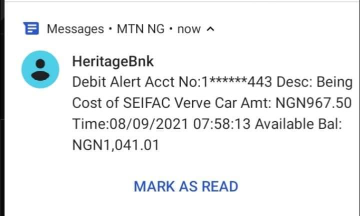 Wata Sabuwa: Heritage Banka Sun Fara Cirewa Membobin Kungiyar Manoman  SEIFAC Kudin ATM Card