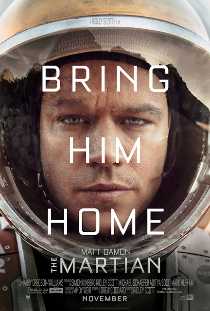 The Martian (2015): this is Mayor Tom to ground control