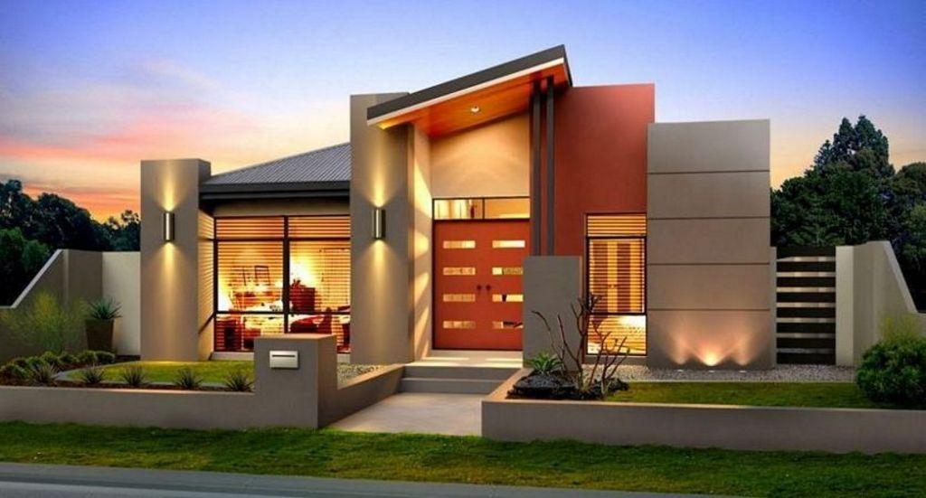 Contoh Rumah Elegan 1 Lantai Inspiratif