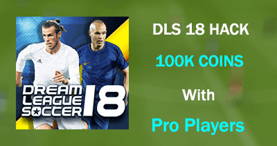Hack Dream League Soccer 2018 | 100K Coins With Pro Players