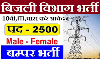 JVVNL Recruitment 2018 - Apply Online for 2433 Technical Assistant Posts