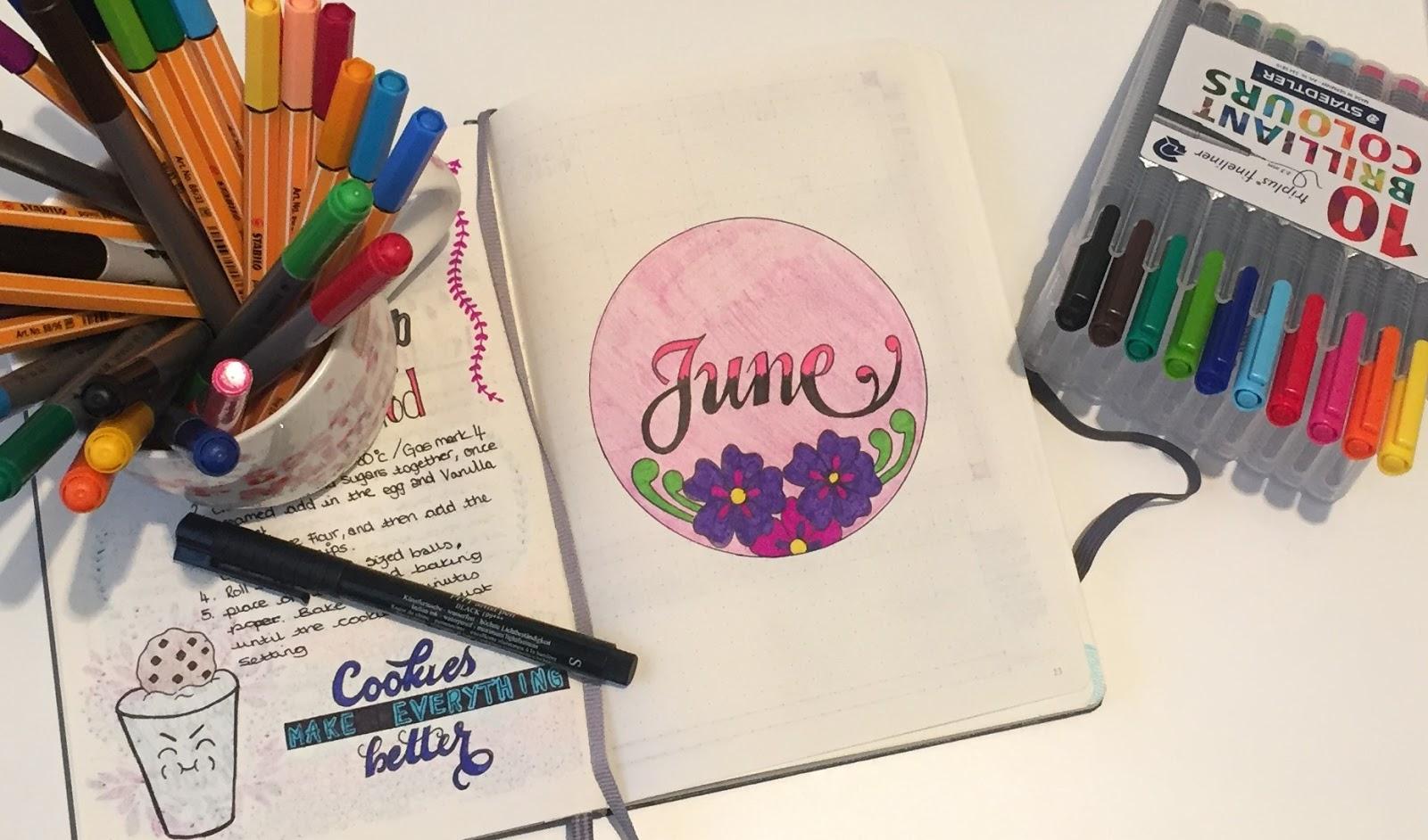 Bullet Journal June Raising Emily