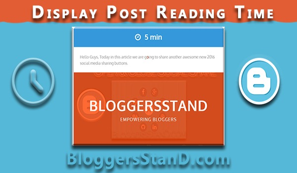 How To Display Visitor Post Engaged Time In Blogger Template
