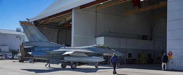 Στις ΗΠΑ το πρώτο Ελληνικό F-16 Viper – Πότε θα ολοκληρωθεί η διαδικασία αναβάθμισης (ΦΩΤΟ)