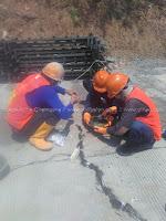 injeksi epoxy jalan beton