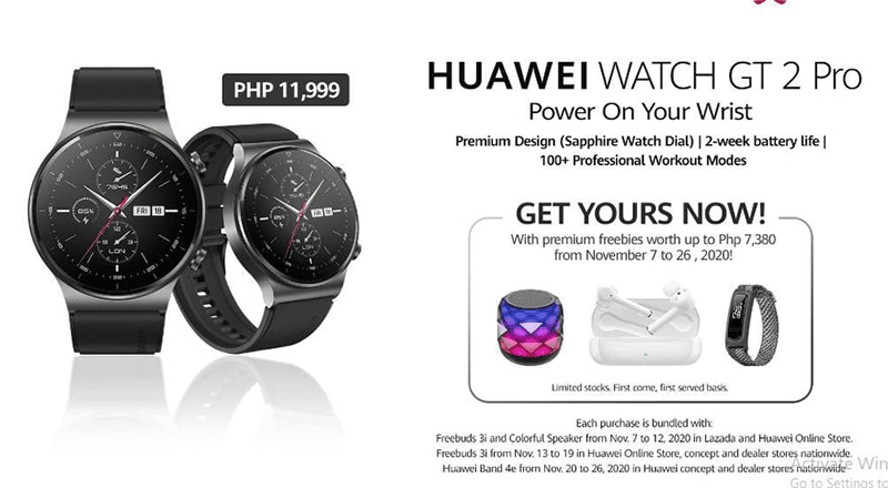 Huawei launches Watch GT 2 Pro in PH, even more affordable than GT 2's original SRP!