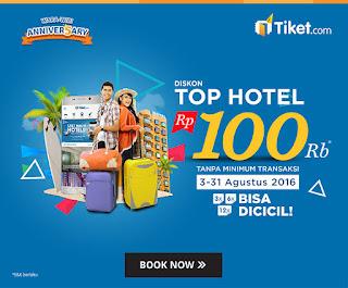 Ke Bali Murah Dengan Wara-Wiri Anniver5ary Top Hotel Tiket.Com