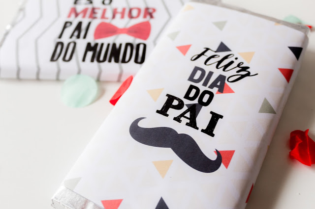 dia do pai: chocolate personalizado
